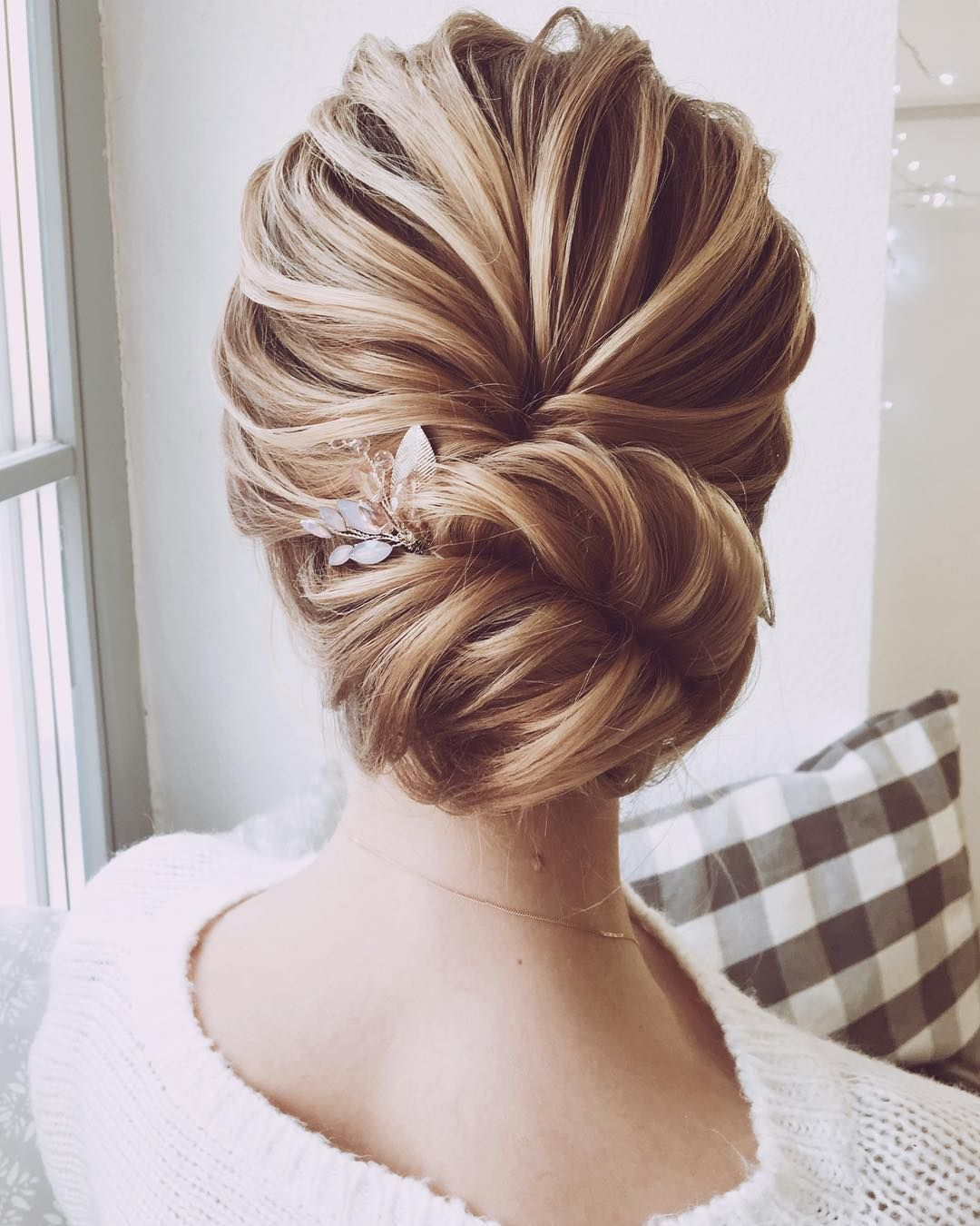 Jaw Dropping Wedding Updo Hairstyle Inspiration Fabmood