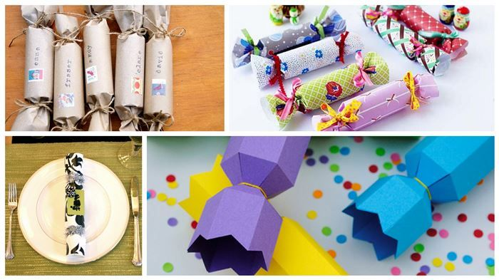 Make your own christmas crackers this year tarjetas pinterest creative ideas souvenirtarjetasgalletas de navidadideas creativas make your own christmas crackers solutioingenieria Image collections
