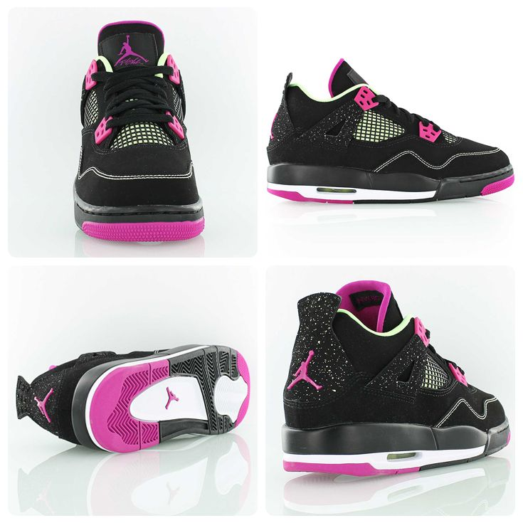 Nike Damen Air Jordan 1 Retro High GG Laufschuhe, Rosa
