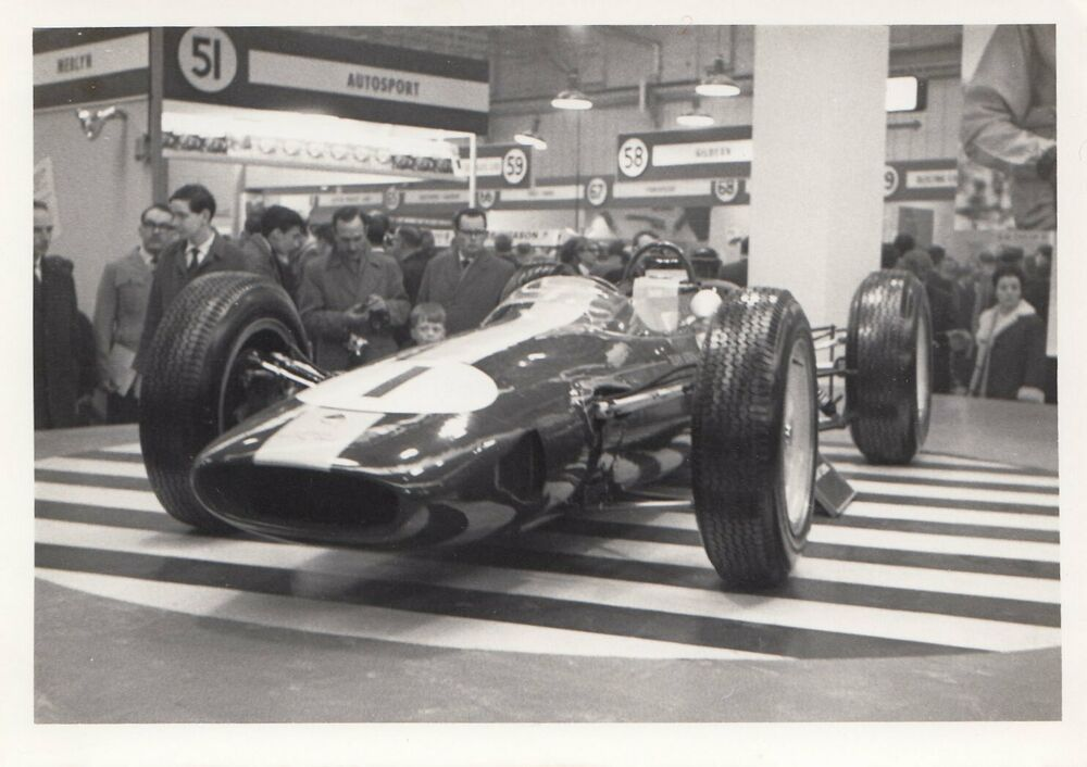 1963 LOTUS 25 F1 GP CHAMPION JIM CLARK RACING CAR SHOW