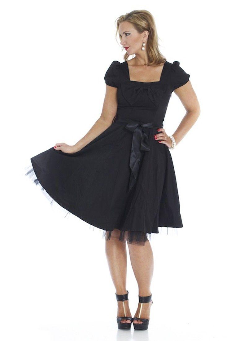 Us vintage style tea party evening dress black bl shopping