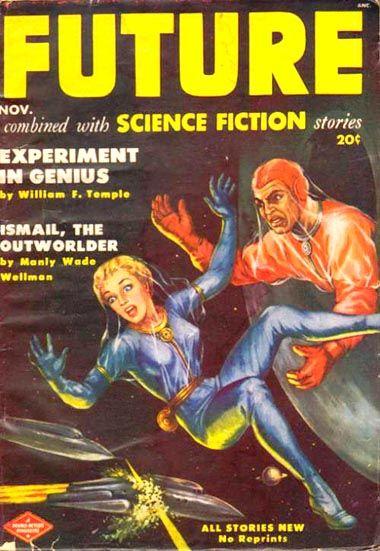 Peter Poulton : Future Science Fiction Nov. 1951