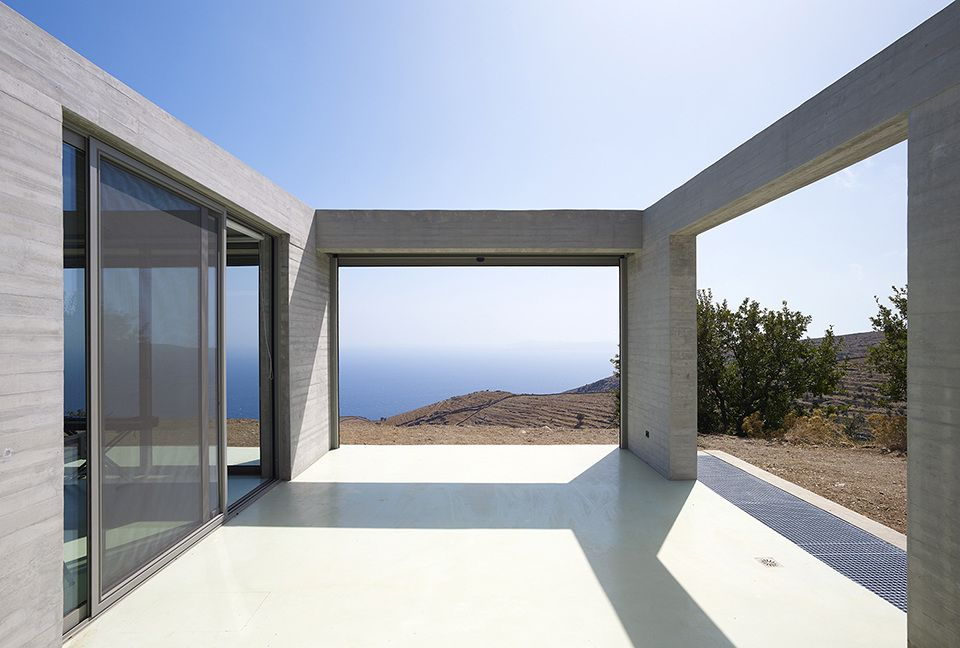Parallel House En Route Architects Concrete house