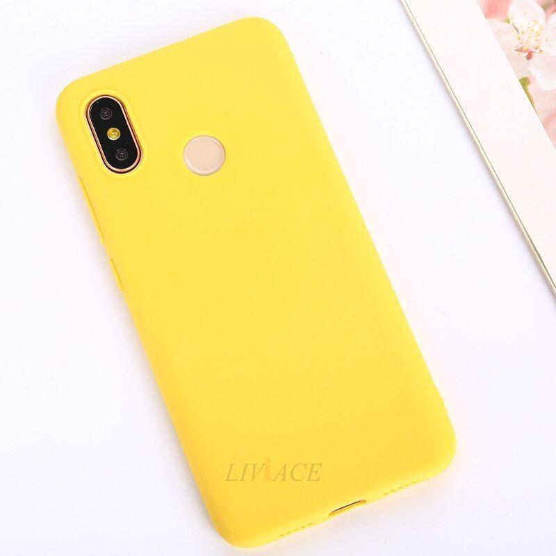 Silicone Case On For Xiaomi Redmi 7 Note 7 Pro 6 5 Back Cover Silicon Case Case Note 7