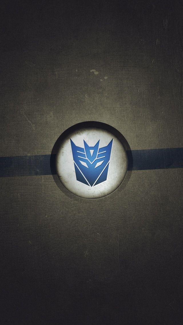 Transformers Logo Decepticon Iphone 5 Wallpaper Hd
