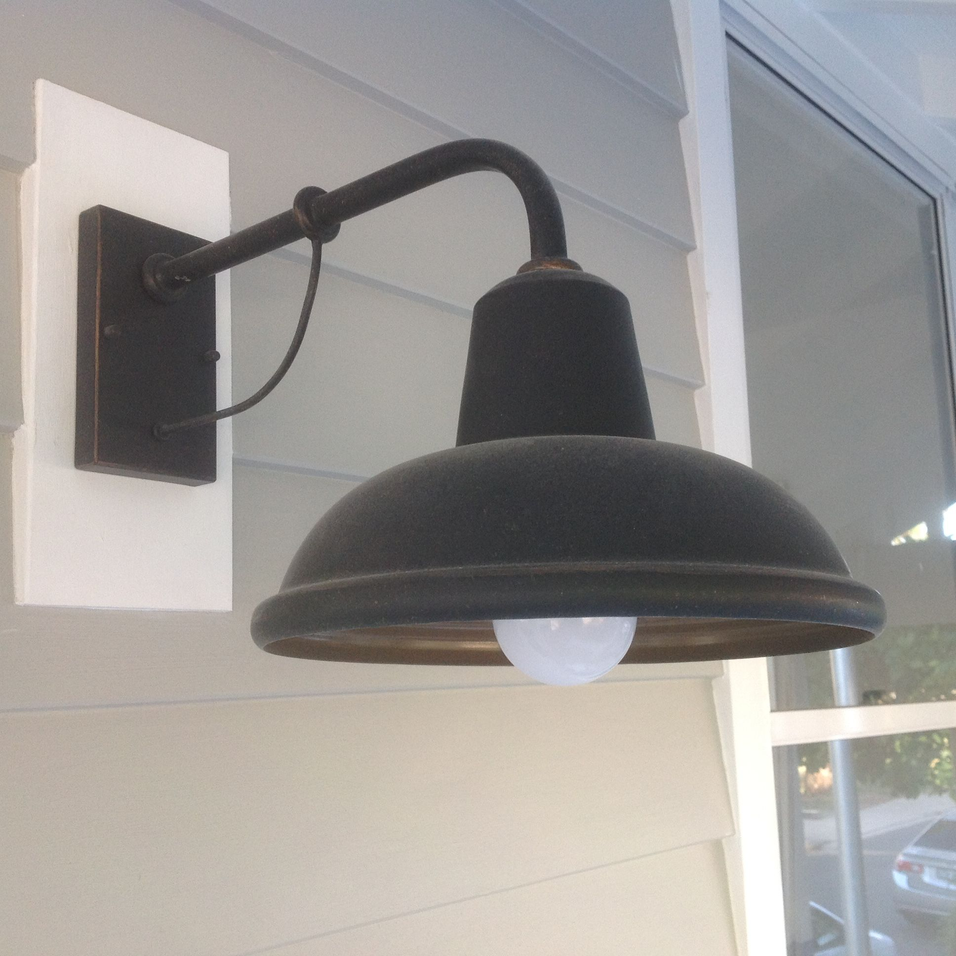 This Australian Working Cottage Exterior Wall Light Is Perfect For This House Renovation In