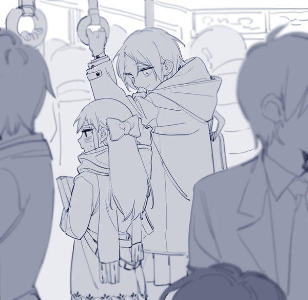 """艾(あい)さんのツイート: """"電車の中で手すりを握りしめるてください https://t.co/VpsYSqlWea"""""""