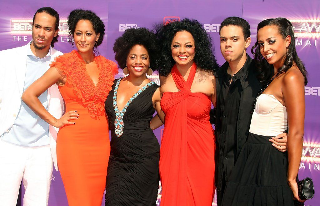 Family photo of the actress famous for Black-ish & Girlfriends.