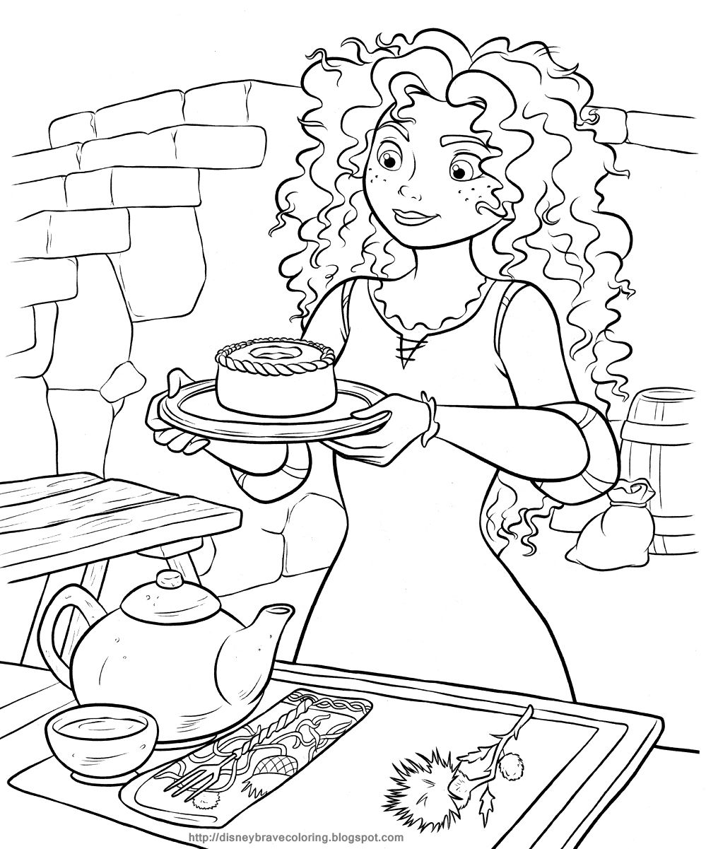 Pin By Fairtoner De On Merida Ausmalbilder Disney Coloring Pages