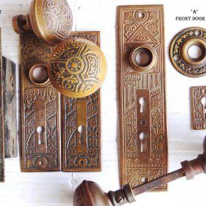 Old Door Knob Plates