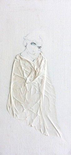 EVA CLAESSENS/ found on www.kunzt.gallery / Kerala, 2013 / Painting / 50 x 30 cm
