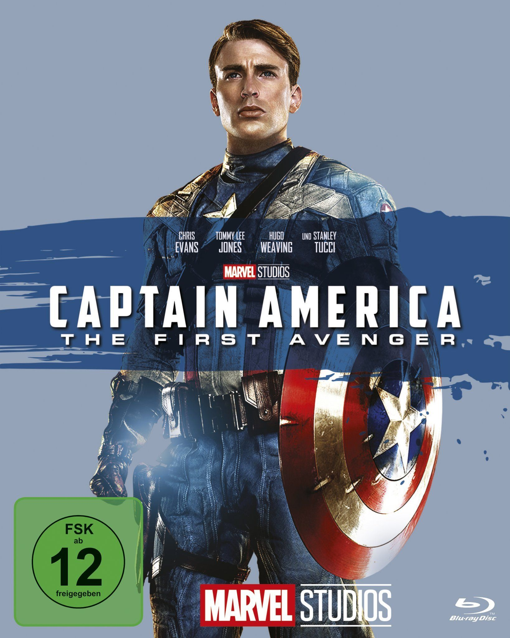 Captain America The First Avenger Alemania Blu Ray Avenger America Captain Ray Peliculas Marvel Peliculas Completas Capitan America