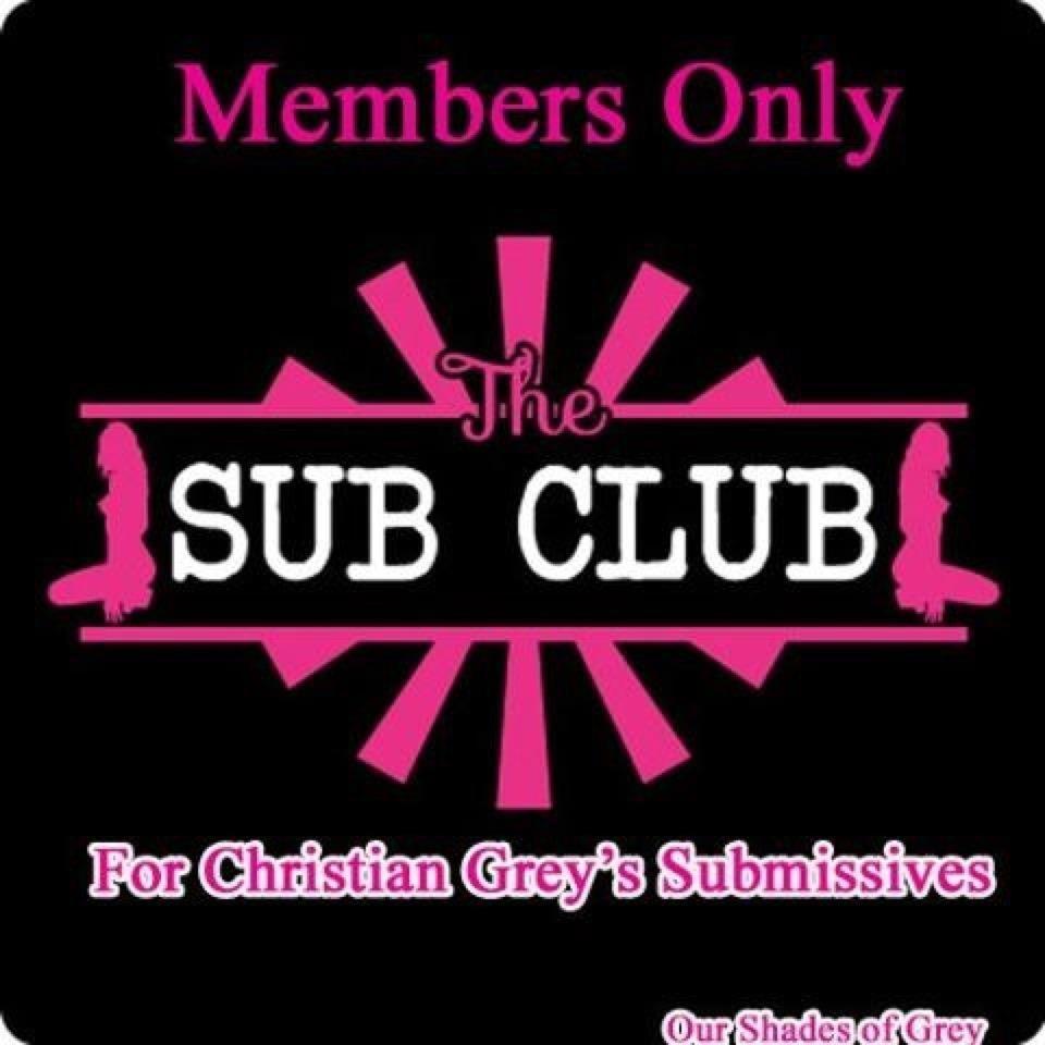 Christian Greys Sub Club 3 Fifty Shades Trilogy Fifty Shades