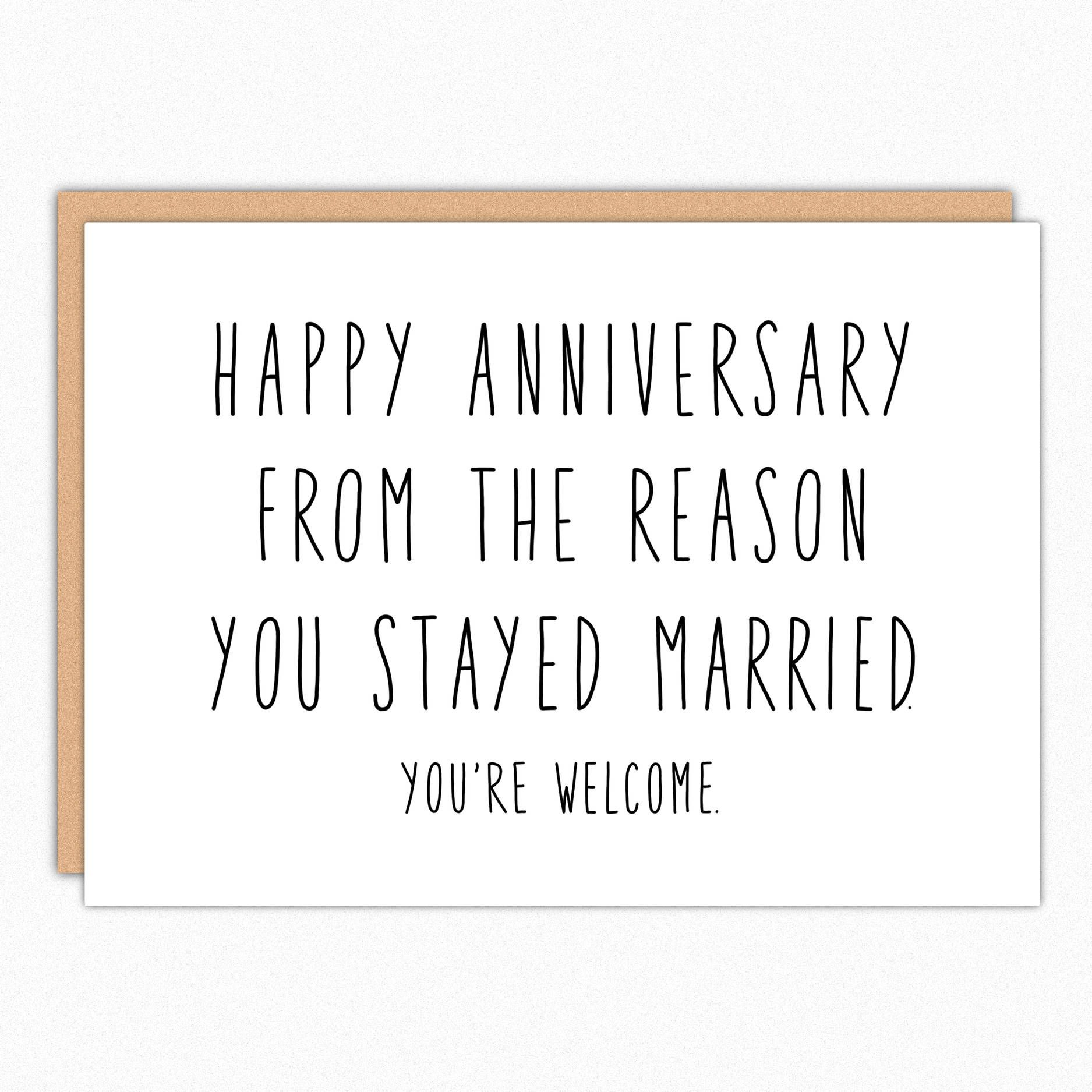 Anniversary card for parents happy anniversary parents funny anniversary card for parents happy anniversary parents funny anniversary card parents sarcastic humor m4hsunfo