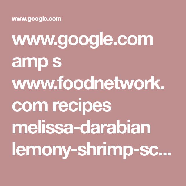 Lemony Shrimp Scampi Pasta   Recipe (With images)   Food ...