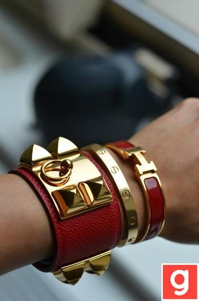 Ladies three in one bracelet