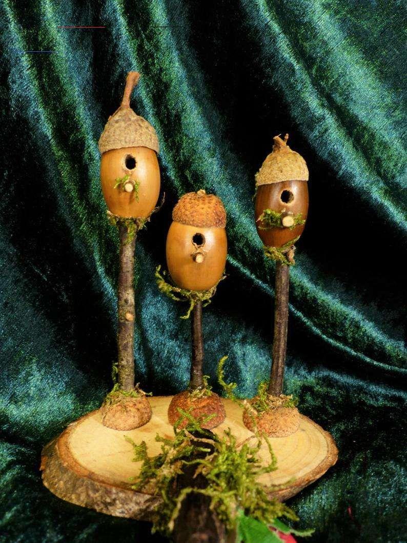 Miniatur Vogelhauser 3 Geschenk Puppenhaus Zubehor Fee Garten Geschenk Miniatur Gart Christmas Fairy Garden Fairy Garden Gifts Fairy Garden Accessories
