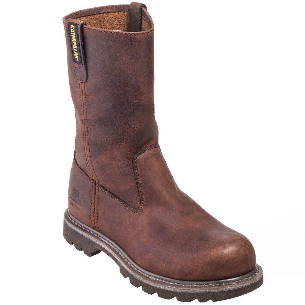 CAT Women's 90418 Steel Toe EH Brown Revolver Work Boots