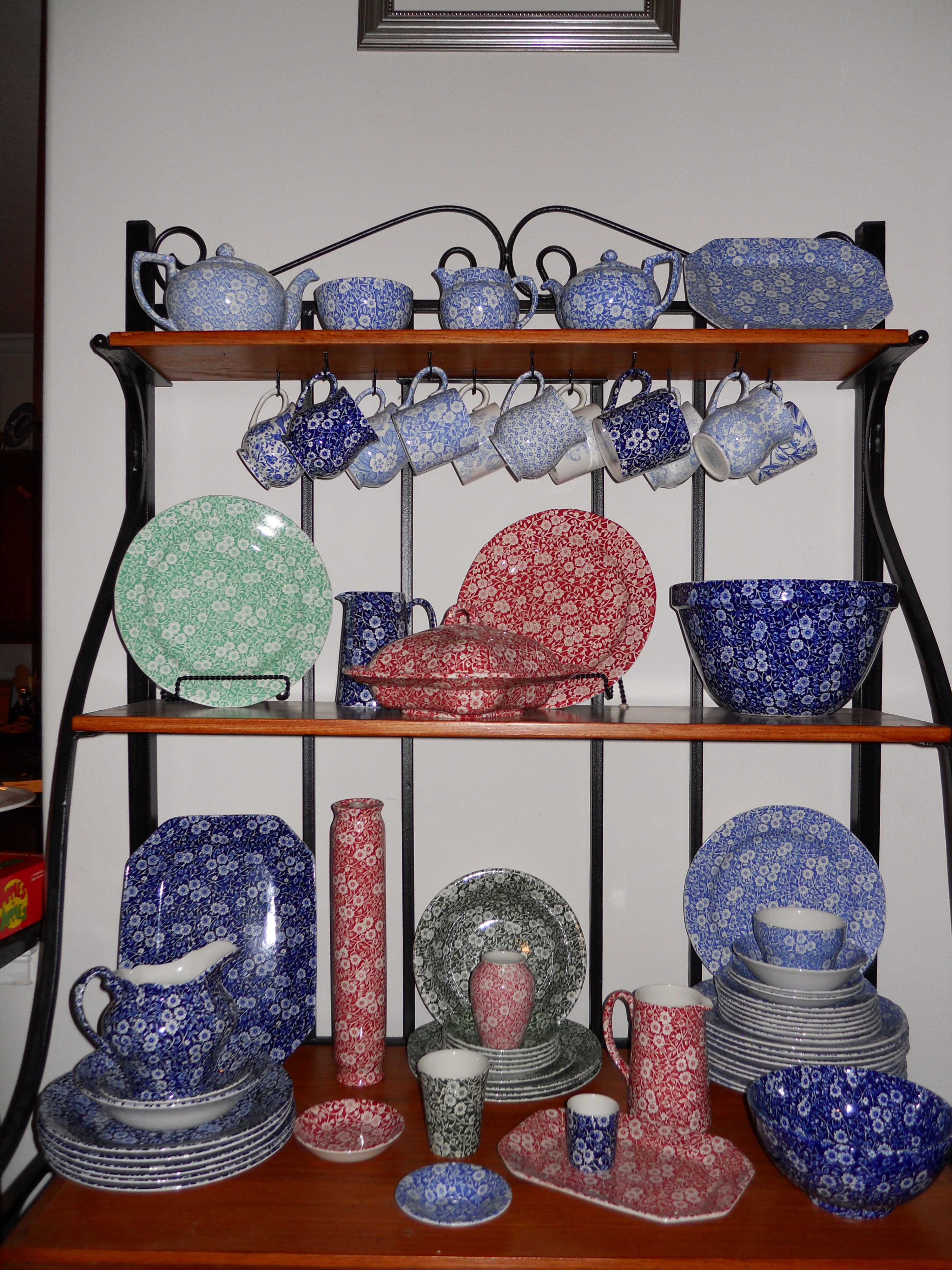 My Burleigh Calico Collection Calico Living In England Pottery