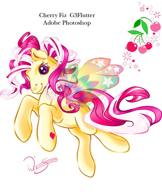 Cherry Fiz Flutter pony by Tamisery on DeviantArt