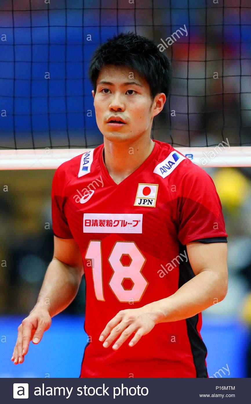 Download This Stock Image Osaka Japan 10th June 2018 Masahiro Sekita Jpn Volleyball Fivb Volleyball Nations League 2018 Men S Volleyball League Osaka