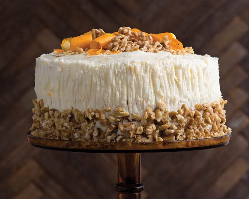 Finished With Crunchy Walnuts This Classic Italian Cream Cake Is