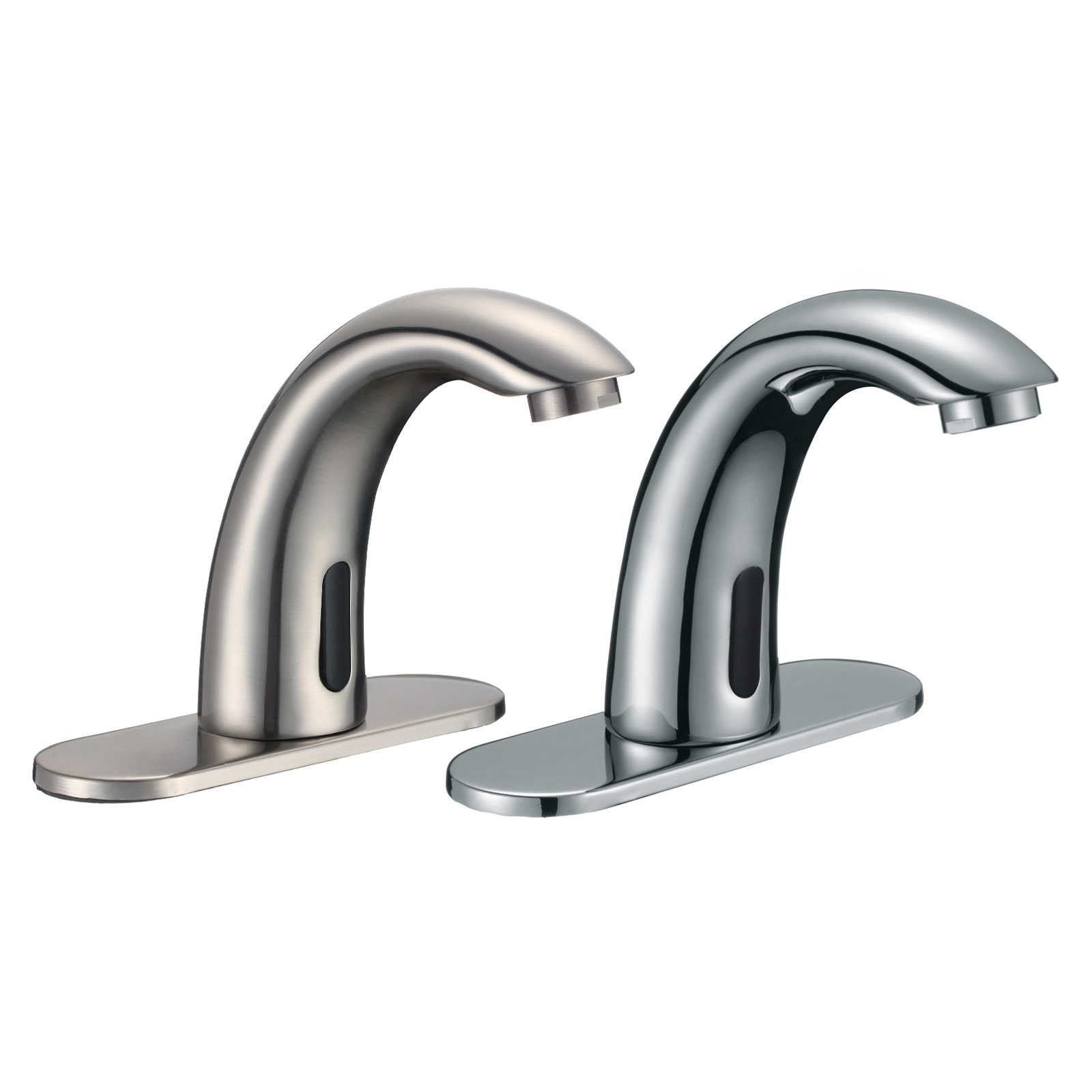 Touchless Bathroom Sink Faucet - Commercial Hands Free Tap ...