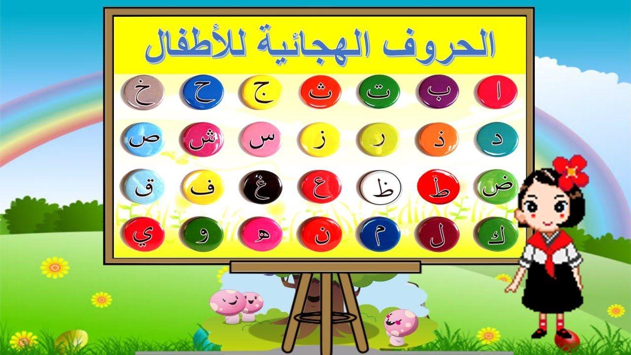 الحروف الهجائية للأطفال مع أمثلة صور الحيوانات Frame