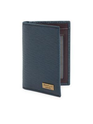 SALVATORE FERRAGAMO Revival Folding Vertical Card Case.  salvatoreferragamo   bags  leather   8b531f3695411