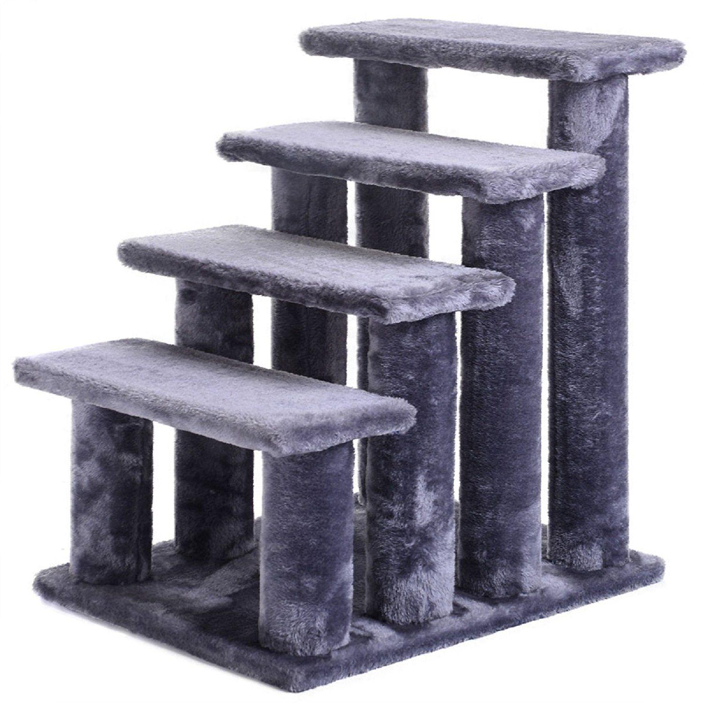 Hot Sale! 21'' pet ramp cat 4Step Stairway Perch