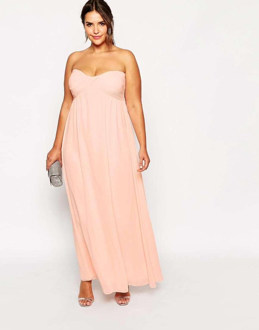 Plus size maxi dresses for summer wedding  Truly You Bandeau Maxi Dress  Maxi dresses Fashion online and Shopping