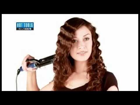 How To Use A 3 Barrel Waver Crimped Hair Three Barrel Curls 3 Barrel Waver Hair