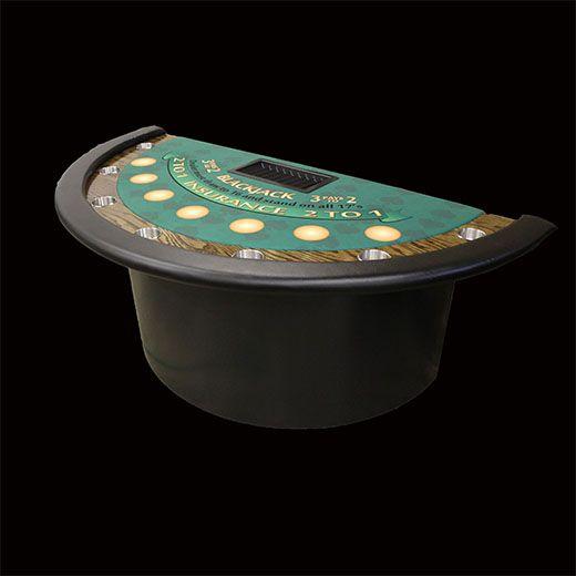 Etonnant Custom Blackjack Table | Bradley Poker Tables