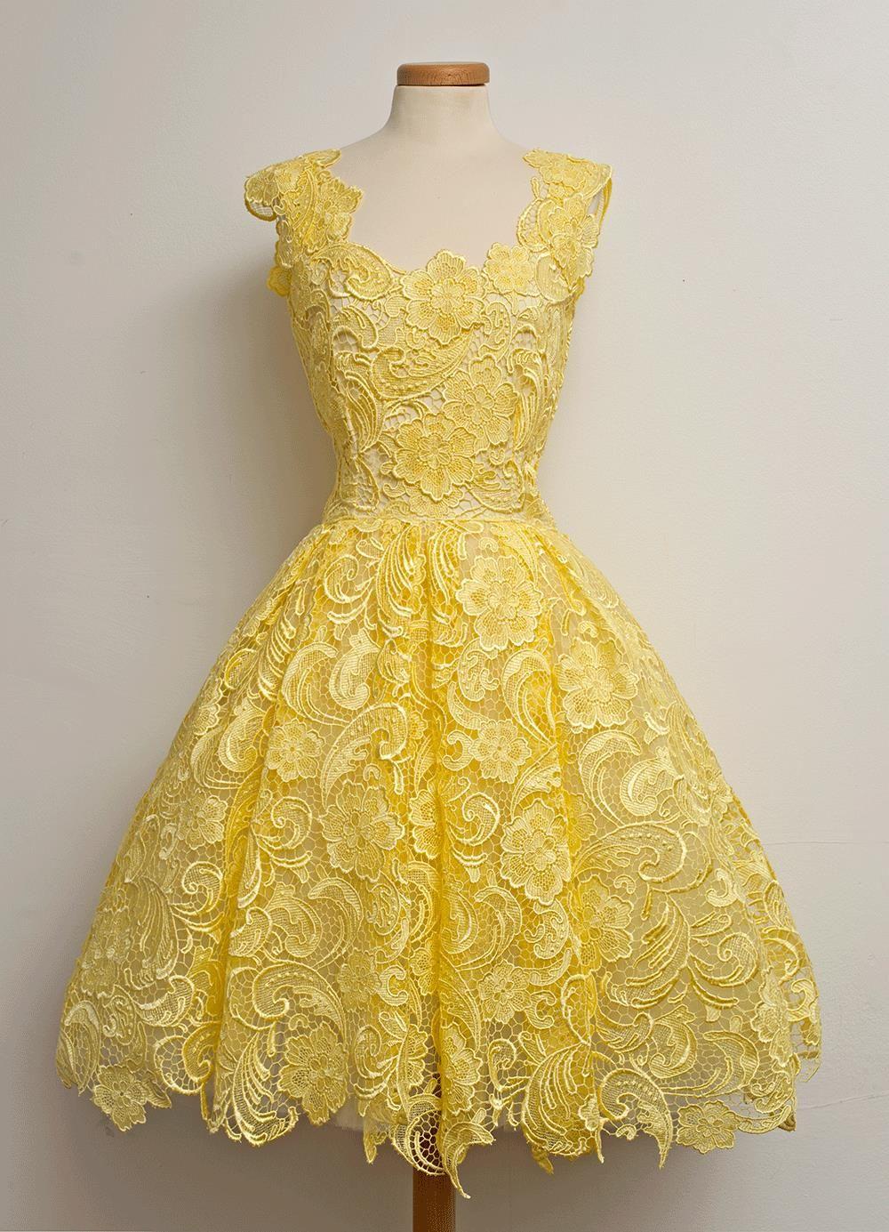 2016 Hot Selling Cheap Green Red Yellow Sweet 16 Dresses Short Graduation Dresses Sleeveles Sweet 16 Dresses Short Yellow Lace Dresses Short Graduation Dresses [ 1385 x 1000 Pixel ]