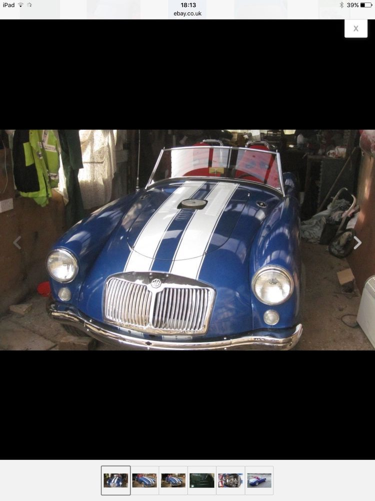Ebay Mga Project Or Parts Car Classicmg Mg Mgoc Car Sports Car Ebay
