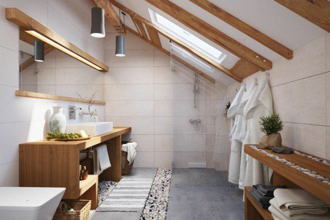 Salle de bain en bois en 30 idées inspirantes ! Dream rooms, Room - plafond salle de bain