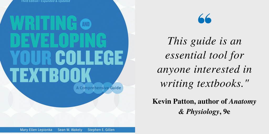 Free 17-page sample: Writing and Developing Your College Textbook ...