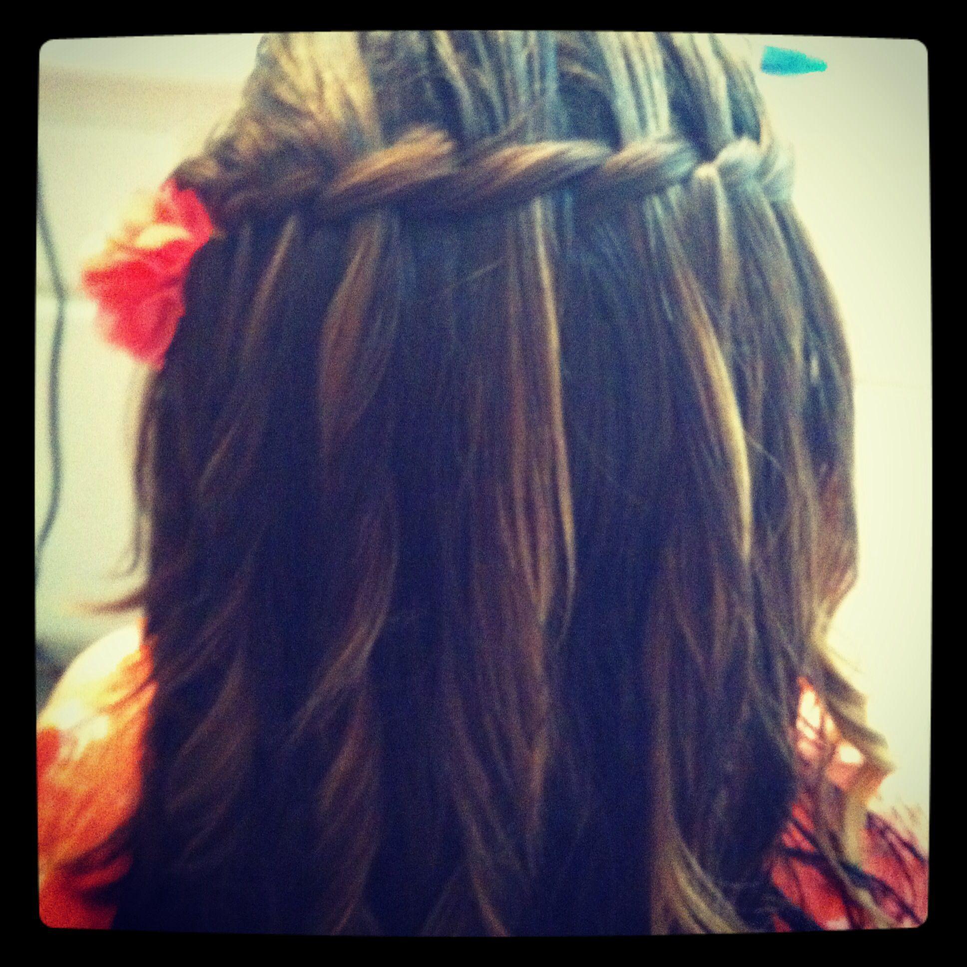 Waterfall braid #beautiful