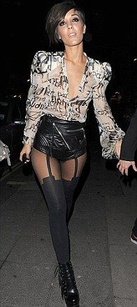 Ooh la-la, it's National Stockings Day: FEMAIL celebrates ...