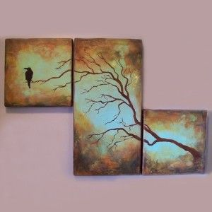 Loving The Multi Canvas Paintings With Images Multi Canvas Art Multi Canvas Painting Multi Panel Canvas Painting