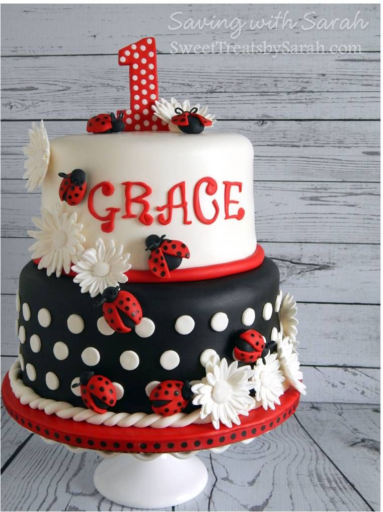 Ladybugs All Dressed In Red Birthday Parties Pinterest