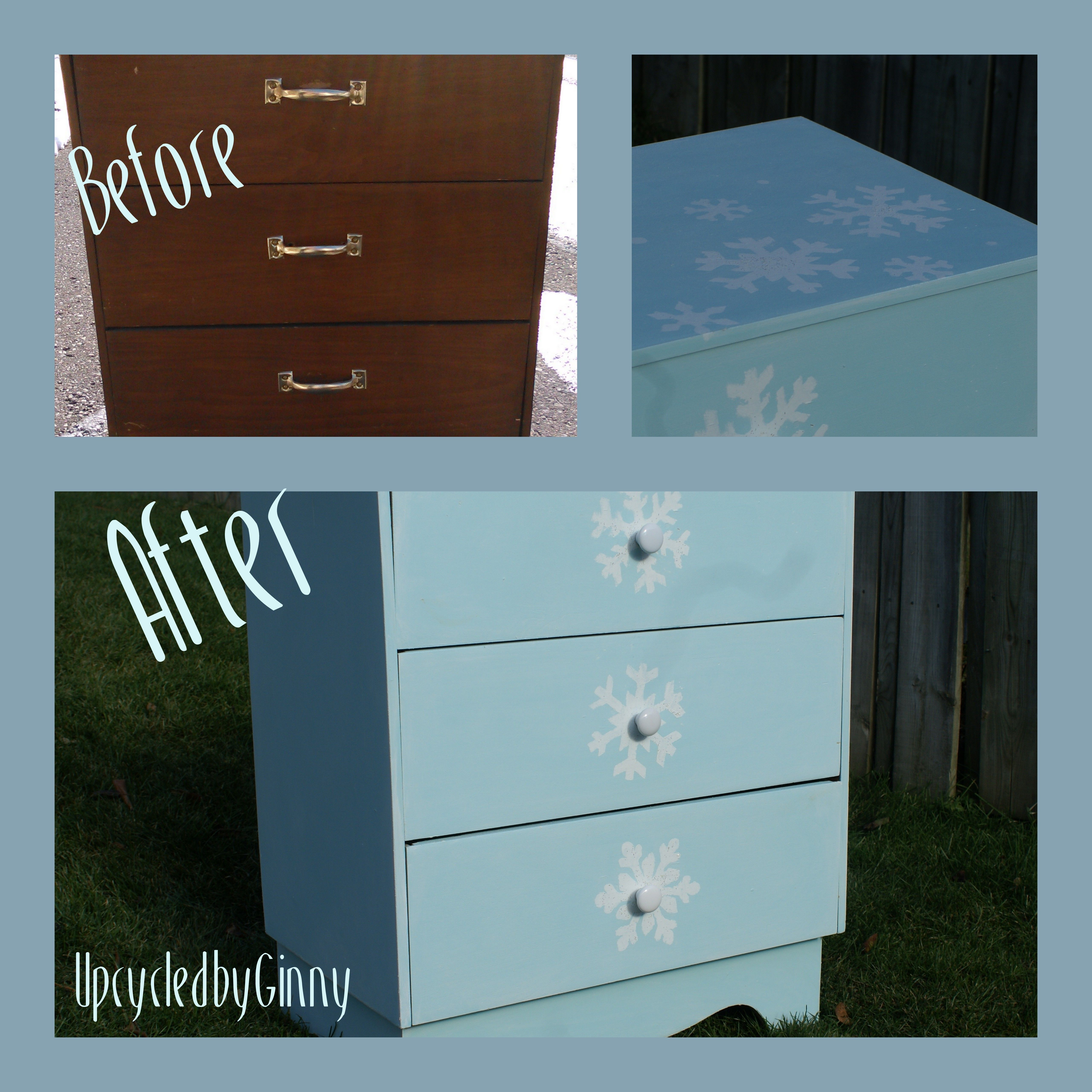 Before And After Frozen Dresser