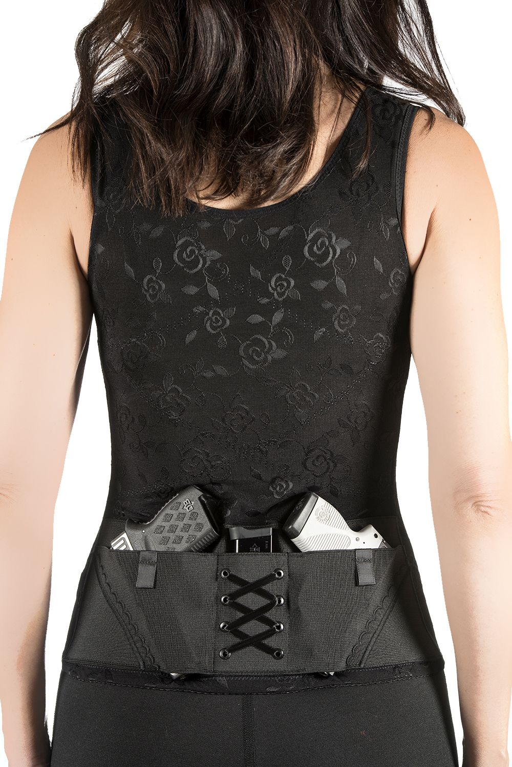 39d64628a13 Concealed Carry Clothing Corset is the all-in-one Holster and Shapewear  Solution