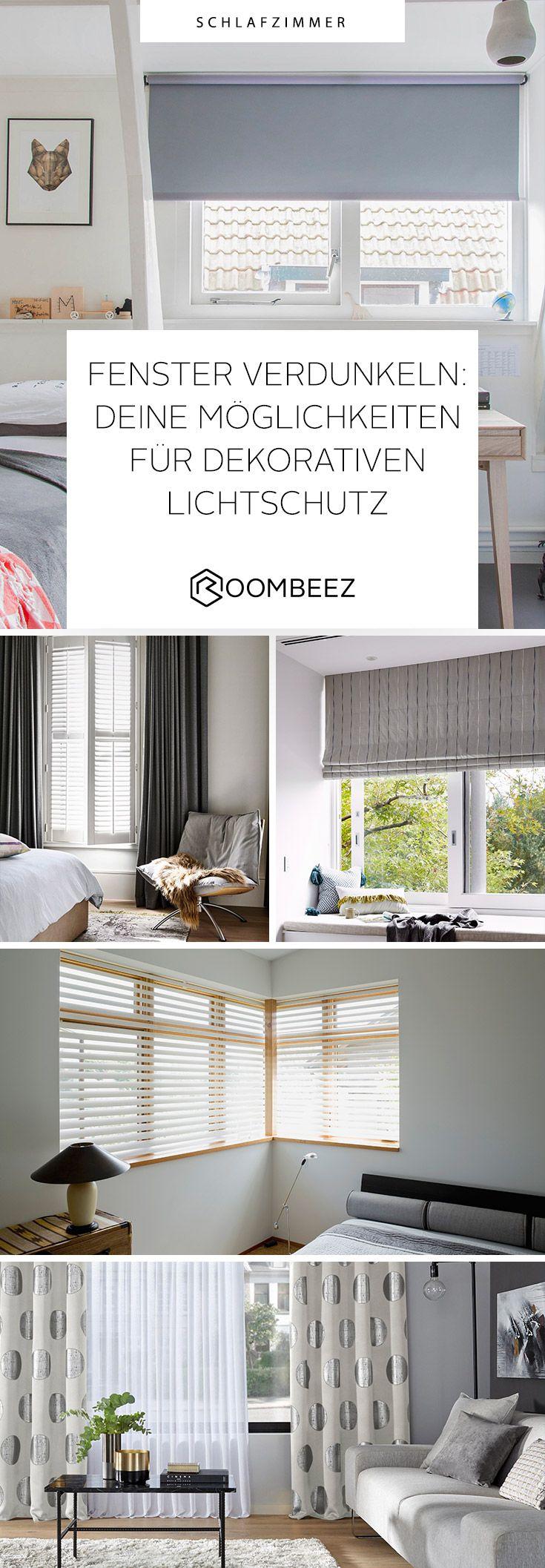 Fenster verdunkeln » Tipps für deine Wohnung  Schlafzimmer