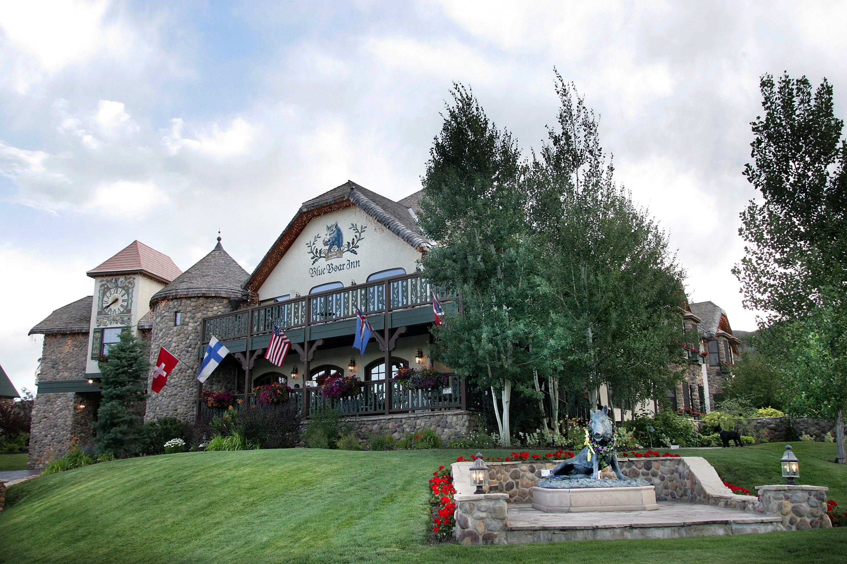 the blue boar inn- midway, utah. bed and breakfast where you can