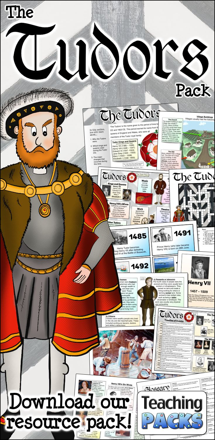 Photo of The Tudors Pack – Resources for Teachers and Educators