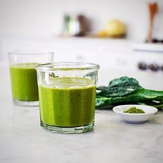 Get a superfood energy boost with this Matcha, Kale