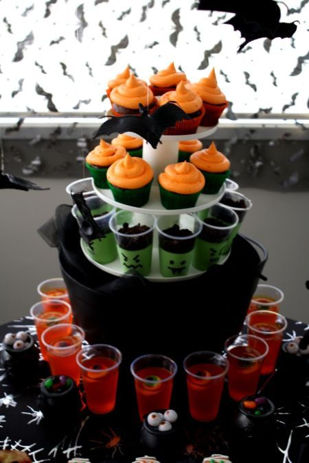 this halloween food station offers treats all in one station see more party and halloween