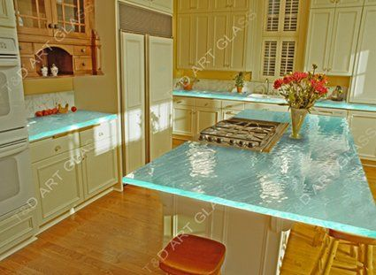 Tempered Gl Kitchen Countertop For Home Furniture