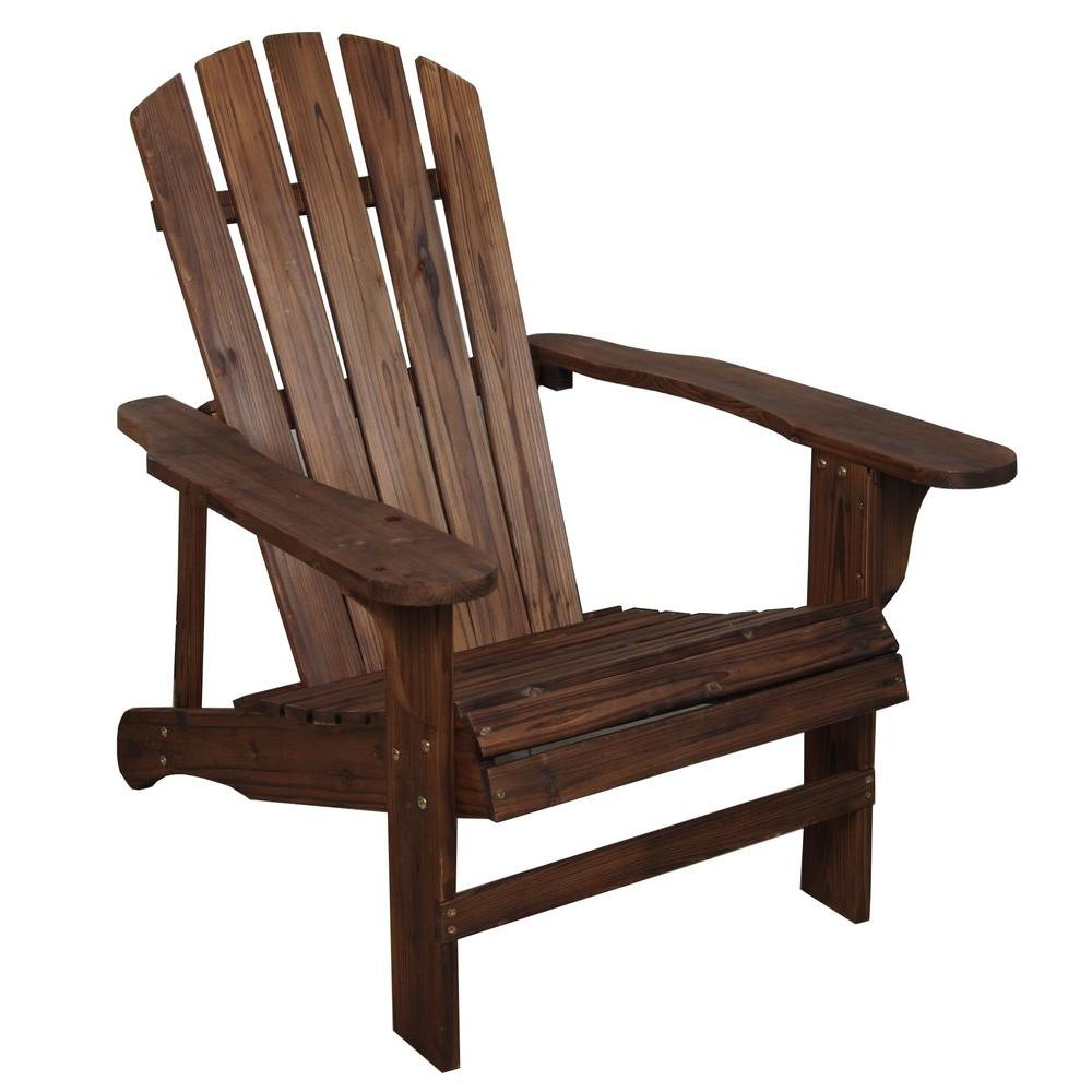Leigh Country Charred Wood Patio Adirondack Chair Tx 94056 The Home Depot Adirondack Chairs Patio Wood Adirondack Chairs Wooden Adirondack Chairs